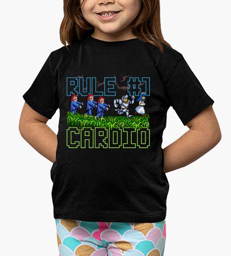 Ropa infantil Zombieland Rule #1: Cardio