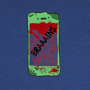 T-shirt Zombiephone