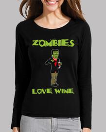 zombies aiment le vin - m / l  femme