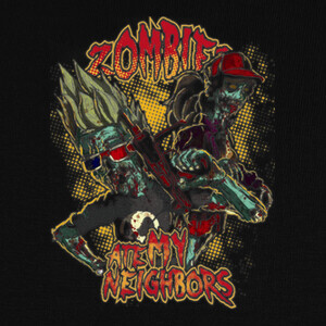 Camisetas Zombies ate my neighbors v2