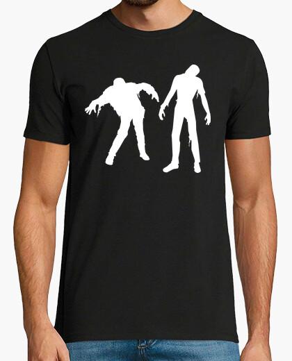 Zombies caminando  Zombies  Zombie camisetas friki