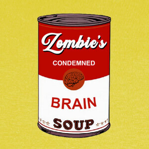 T-shirt Zombies Soup