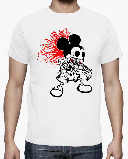Mickey Mouse Zombies Terror Horror Cine TV humor Zombie camisetas friki