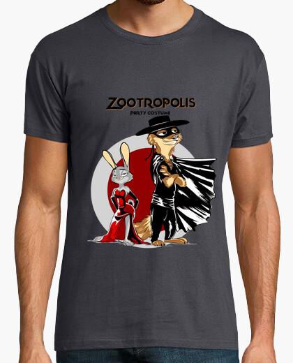 Zootropolis costume party t-shirt