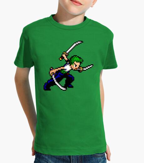 Ropa infantil Zoro 16bit (Camiseta Niño)