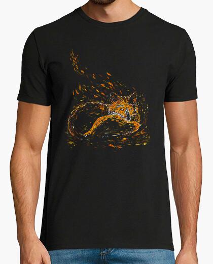 Camiseta zorro de camafeo