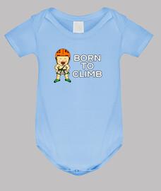 zum Klettern geboren