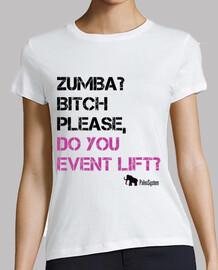 Zumba? please, do you even lift?
