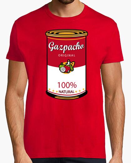 T-shirt zuppa di gazpacho