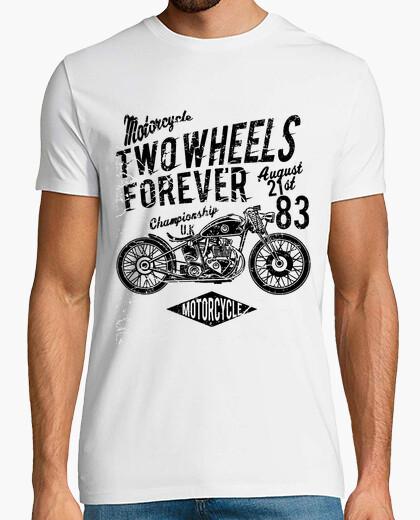 T-Shirt Zwei Räder für jemals
