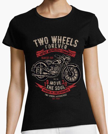 T-Shirt Zwei Räder für jemals 2