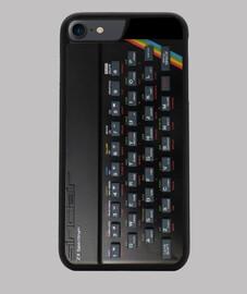 ZX Spectrum Funda iPhone 7/8, negra