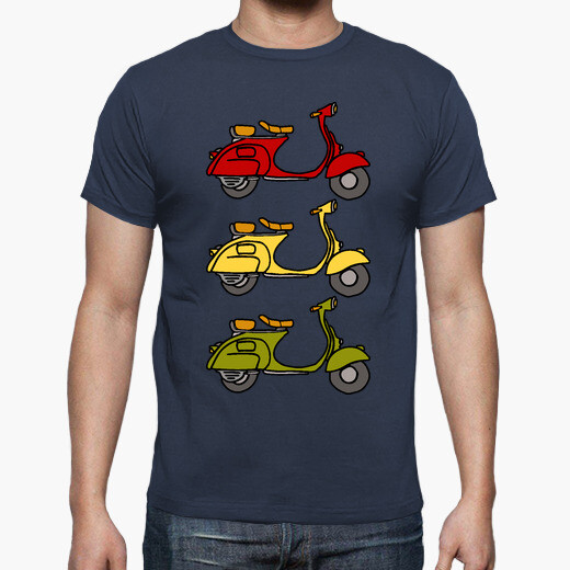 3 scooters t-shirt