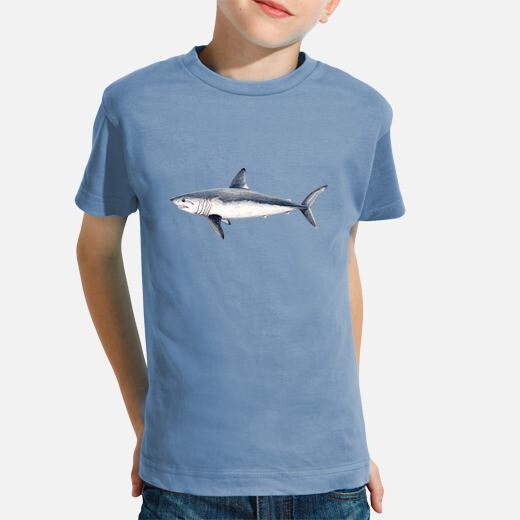 tiburón cailón (lamna nasus)