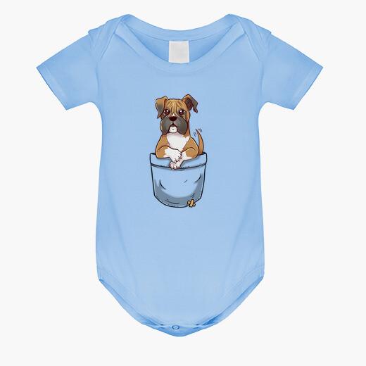 Abbigliamento bambino cucciolo di boxer...