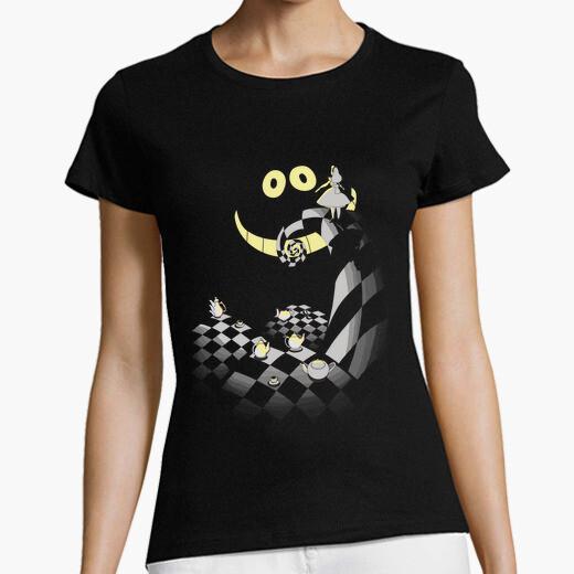 Alice in the Darkness- Camiseta mujer