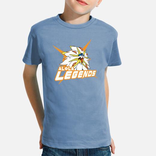 Alola legends sun version kids clothes