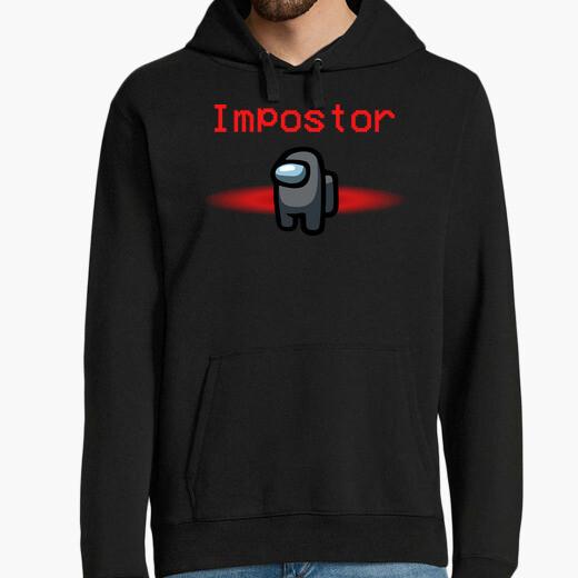 Among us black impostor hoodie