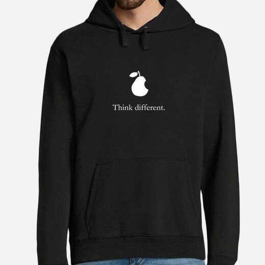apple pear think different  hombre