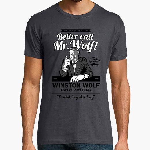 Better call mr. wolf t-shirt