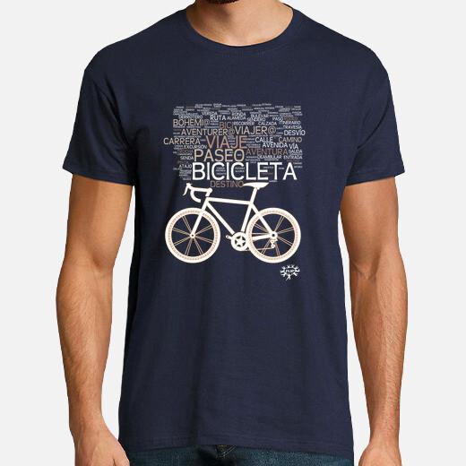 bicicleta nube de sensaciones