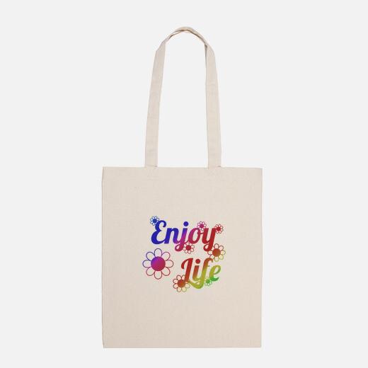 Bolsa disfruta la vida