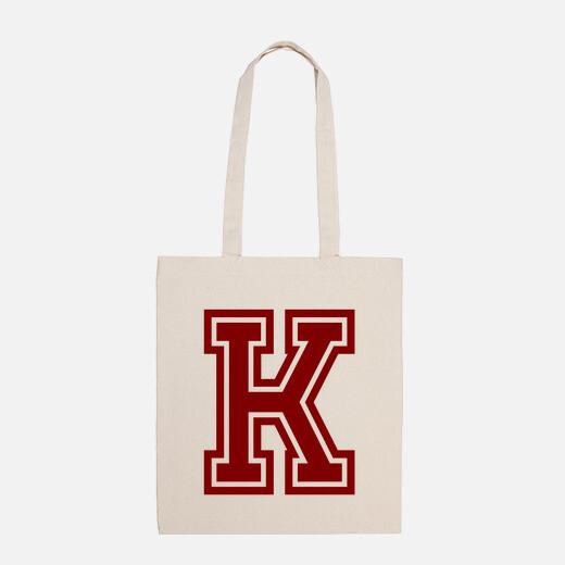 Bolsa Letra K RED University