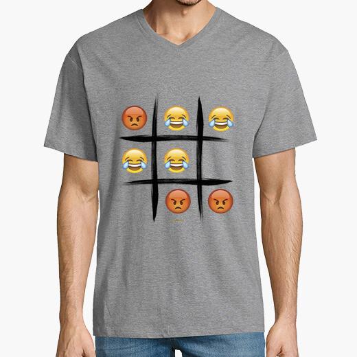 Camiseta 3 en raya edition chico cuello v