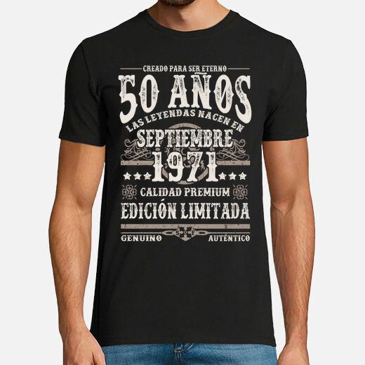 Camiseta 50 años septiembre 1971