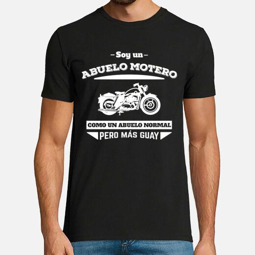 Camiseta Abuelo Motero, Como Un Abuelo...