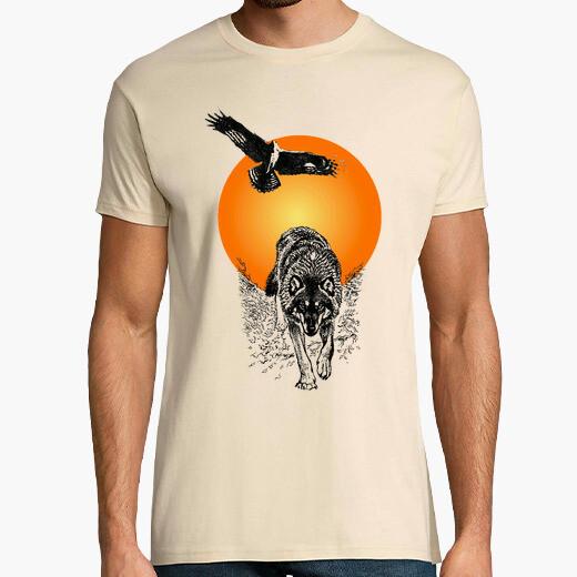 Camiseta Águila y Lobo