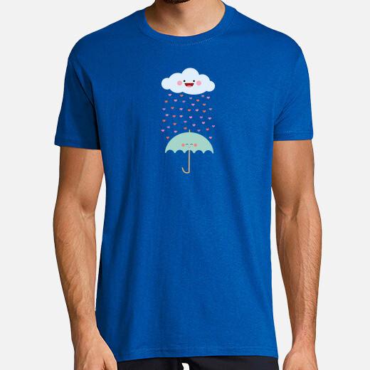 Camiseta amar la lluvia