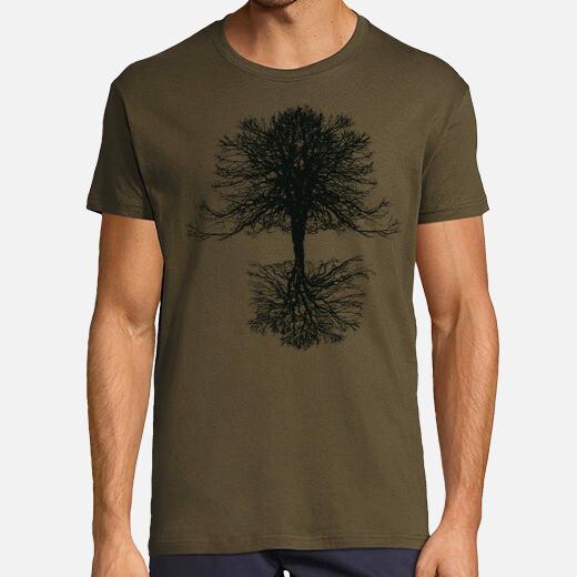 Camiseta Arbol de la Vida en Negro