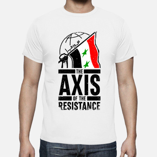 Camiseta Axis of Resistance - Syria, 3