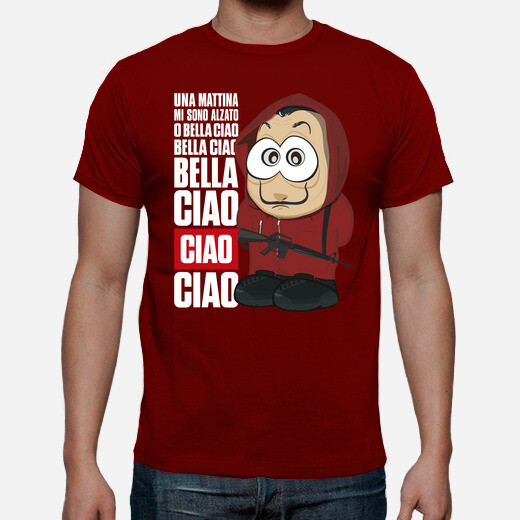 Camiseta Bella ciao - La casa de papel -...