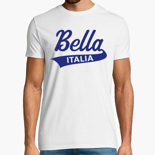 Camiseta bella italia - italiano - italia...