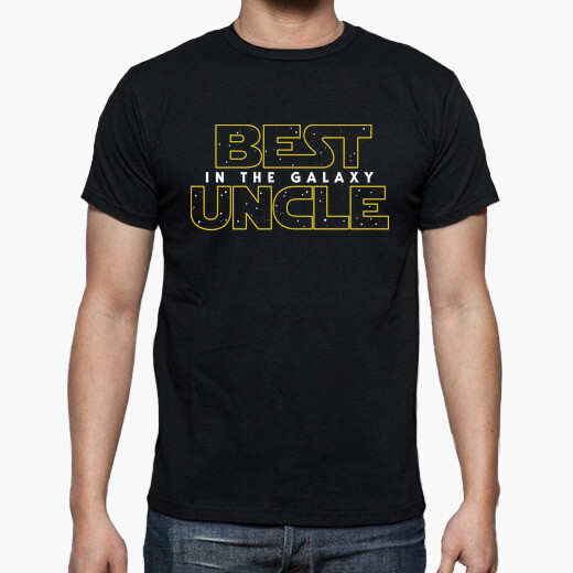 Camiseta Best Uncle in the Galaxy SW v2