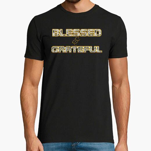 Camiseta Blessed & Grateful 01