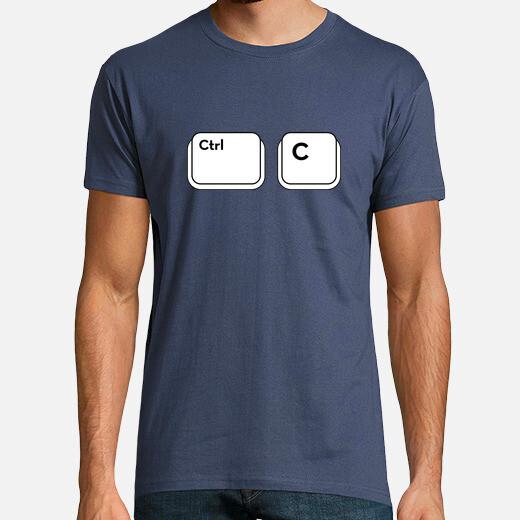 Camiseta c ctrl