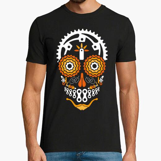 Camiseta Calavera Ciclista