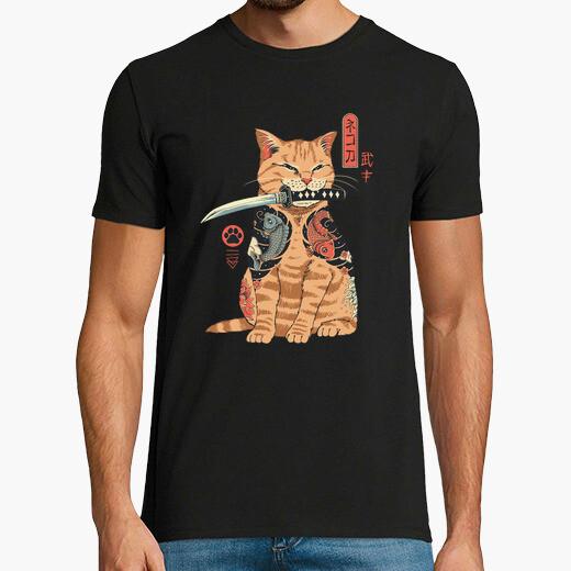 Camiseta camisa catana para hombre