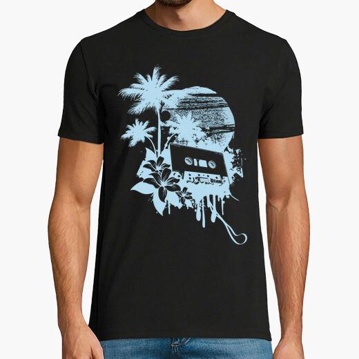 Camiseta Cinta de Cassette Retro entre...