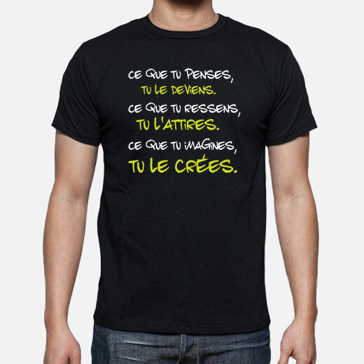 Camiseta cita de buda