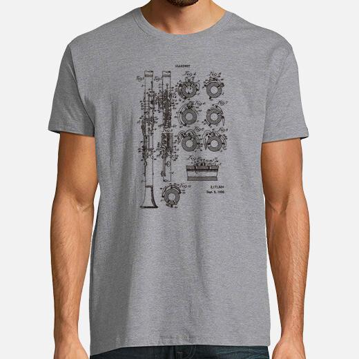 Camiseta Clarinete Patente