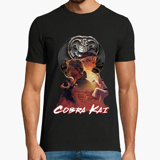 Camiseta Cobra Kai - Past and present