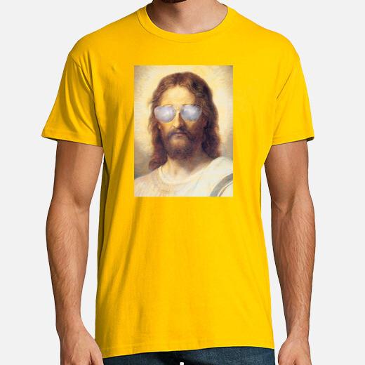 Camiseta Cool Jesus Street Art by Dashiner