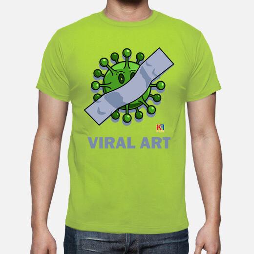 Camiseta CORONAVIRUS VIRAL ART