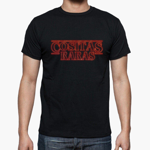 Camiseta cositas raras, stranger things