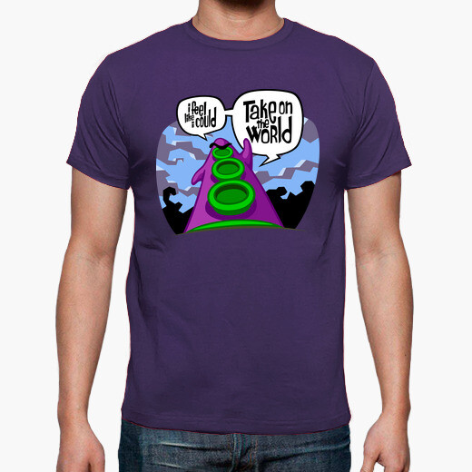 Camiseta Day of the Tentacle: Take on the...
