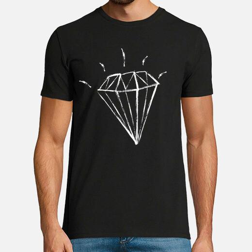 Camiseta Diamante Brillante Diamond